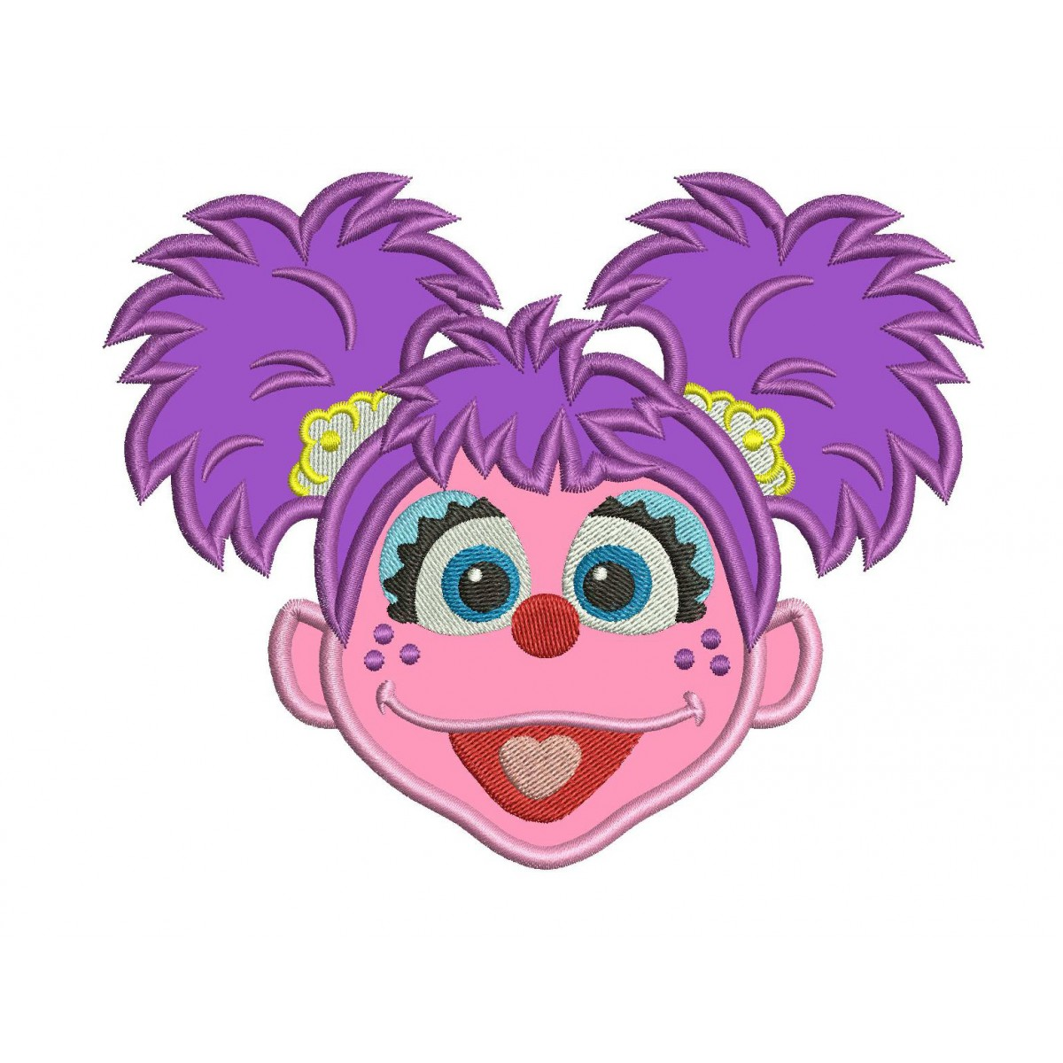 This is a photo of Striking Abby Cadabby Images